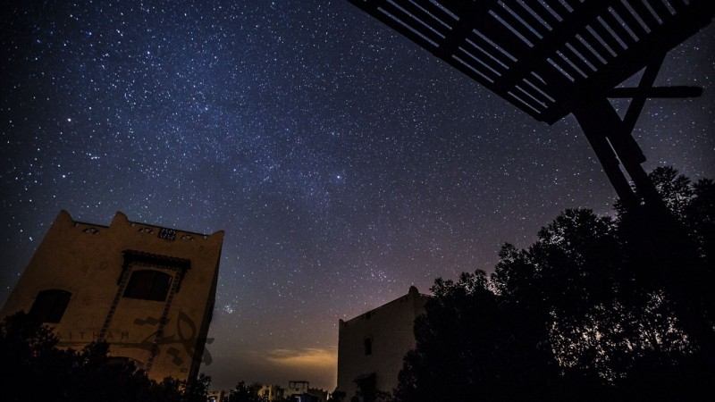 Milky Way La Hacienda timelapse